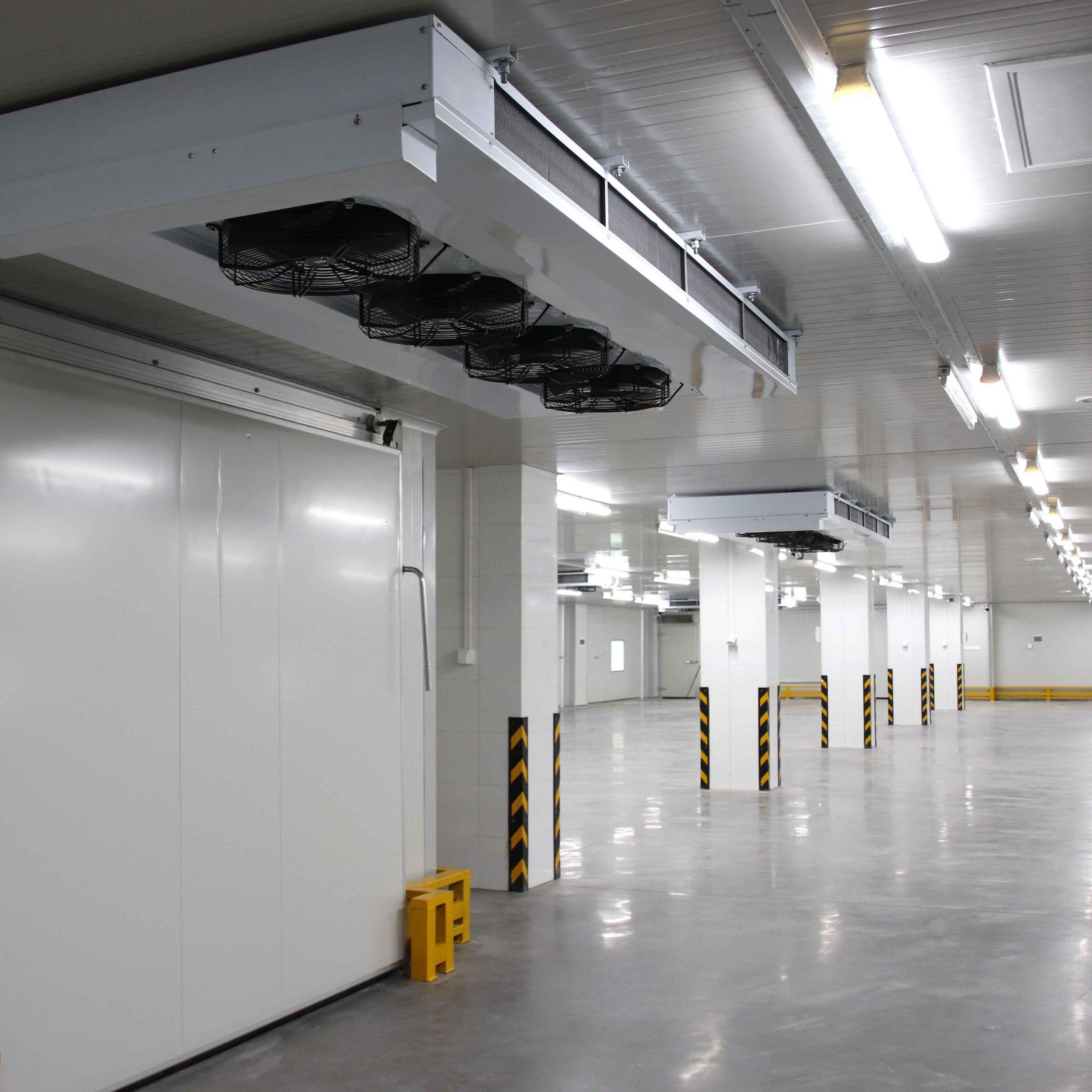 Freezing warehouse